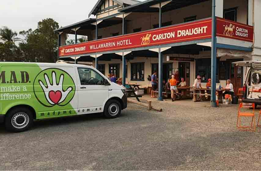 Bushfire Relief - Willawarrin Pub 2020