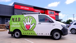 MAD mobile food & coffee van